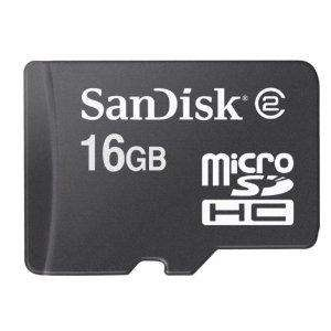 SanDisk 16GB Micro SDHC Memory Card - Only £15.69 Delivered @ Amazon