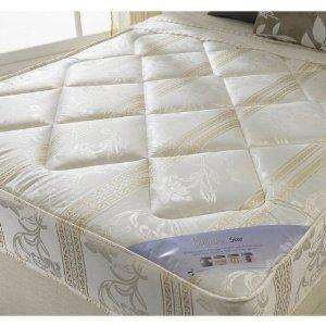 Luxury 4.6ft Double Size Mattress - Happy Beds - £66 Delivered @ Amazon Sold By JJJ Direct