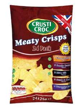 Meaty Crisps - 24 Pack £1.59 at Lidl