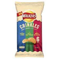 *NEW* Walkers Crinkles 6X28g £1 @ Tesco & Asda & Morrisons