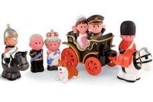 William & Kate Royal Wedding Set: Happyland - Was £15 Now £12 + Upto 50% off Other Happyland Items @ Early Learning Centre