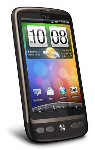 HTC Desire - Brown (Vodafone) (Orange) (O2) - £259.95 Including £10 Top Up @ Phones4U
