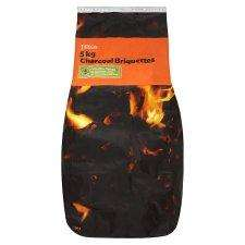 2 x 5Kg bags of charcoal briquettes £6 @ Tesco (40% saving)