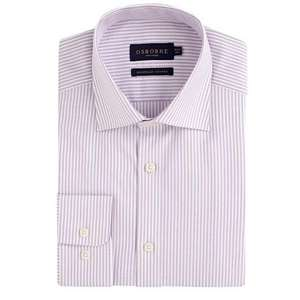 Osbourne Mens Lilac Long Sleeved Shirt - Was £38 Now £8.66 (with 5% code) @ Debenhams