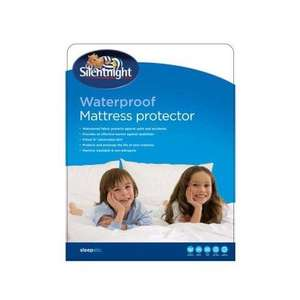 Silentnight Single, Double, Kingsize Waterproof Mattress Protector £5.00 at Wilkinson (Wilkinson Plus)