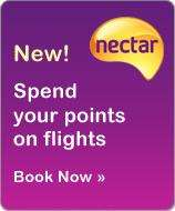 Spend your Nectar points on EasyJet