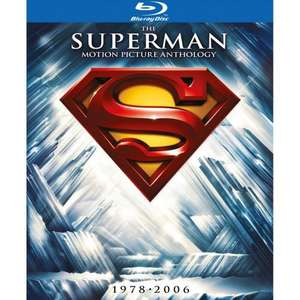 *PRE ORDER* Superman 1-5 Collection (Blu-ray) - £33.99 (with code) @ HMV