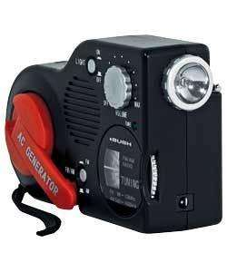 Bush Wind Up Radio with Built-in Torch - £11.98 Delivered @ Ebay Argos Outlet
