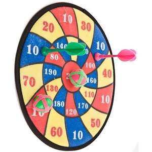 Dartboard Playset - Great Sticky Board Good for Outside In The Summer - £1 Instore @ Poundland