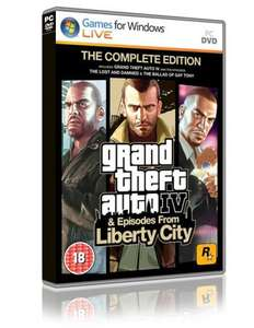 Grand Theft Auto IV Complete Edition (PC) - £9.86 (with code) @ Shopto