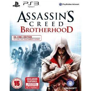 Assassin's Creed Brotherhood: Da Vinci Edition: Includes DLC (Xbox 360) - £24.97 (PS3) - £20.98 @ Amazon