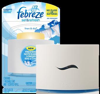 NEW Febreze Set & Refresh Air Fresheners - £2.49 @ Savers