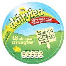 Dairylea Cheese 16 Triangles 280G @ Tesco  only £1
