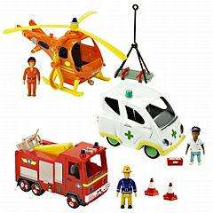 Fireman Sam Multi Vehicle Playset 75% Off, Reduced From £39.99 - Now Just £9.99 Instore @ Sainsburys
