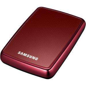 """Samsung 2.5"""" 320GB Portable HDD - Red - £29.99 @ Comet"""