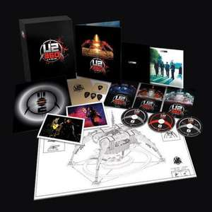 U2 360° At The Rose Bowl Super Deluxe Box Set (DVD + Blu-ray + Vinyl + Book) - £54.99 @ Universal Music