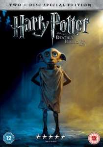 Harry Potter And The Deathly Hallows Part 1 (Dobby Exclusive Sleeve) (DVD) - £8.99 Instore @ Sainsburys