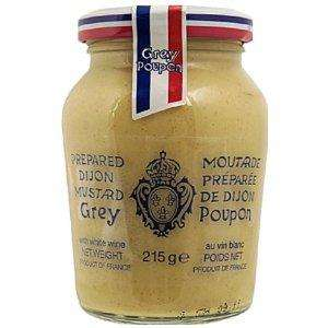 Grey Poupon Dijon Mustard 215 g (Pack of 6) £3.88 delivered @ Amazon