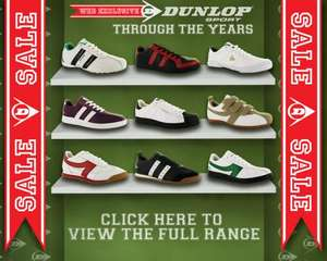 Bargain On Dunlop Trainers - From £12 @ Sports Direct