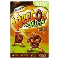 Weetabix Weetos Vs Aliens Invaders Chocolate Toffee Flavour 375g £1.50 @ Asda