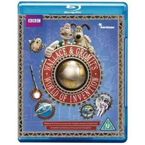 Wallace and Gromit's World of Invention (Blu-ray) - £5 @ Amazon
