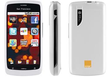 San Francisco Android White Mobile Phone on Orange PAYG £99.99 @ PrePayMania Ebay