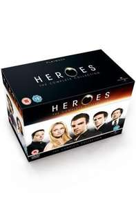 Heroes: The Complete Collection: Seasons 1-4 Box Set (DVD) (23 Disc) - £42.97 Delivered @ Amazon UK