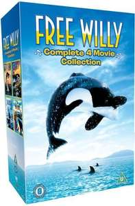 The Free Willy Collection (DVD) - £6.97 Delivered @ Amazon UK