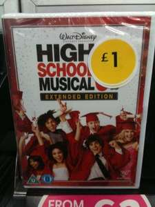 High School Musical 3 Extended Edition (DVD) - For Just £1 Instore @ WH Smith