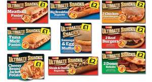 New ultimate snack range £1/ £2 @ Iceland