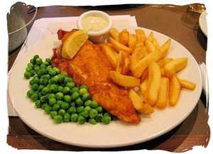 ASDA Cafe 2 x Fish and Chips meals and 2 Kids Meals for £7