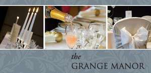 Full Wedding Package for 50 Guests at The Luxurious Grange Manor in Grangemouth Scotland for Only £2,400 @ 5pm.co.uk