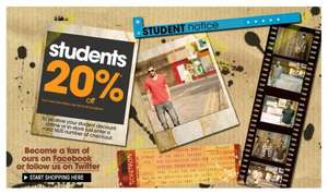 20% off For NUS Card Holders @ Burton