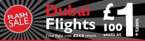 Flash Sale Now On! Flights to Dubai £244 (Return) - Only 51/100 Seats Left @ Flight Centre