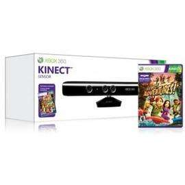 Xbox 360 Kinect Sensor And Kinect Adventures Game - £74.99 delivered @ Price Minister Sold by Gzoop
