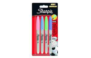 4x Sharpie Pastel Permanent Markers - 99p @ Home Bargains