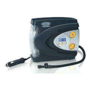 Ring Automotive RAC630 12V Automatic Digital Compressor with LED Light £17 @ Amazon