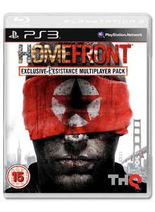 Homefront (With Exclusive Resistance Multiplayer Pack) (PS3) - £25.98 @ Game