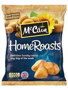 McCain HomeRoasts Tesco 50p with Voucher