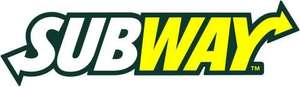 Subway Voucher Booklet inc BOGOF Instore