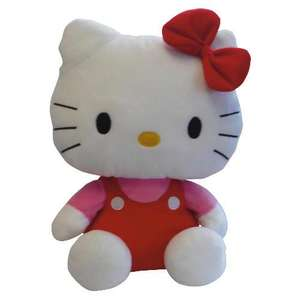 "Large 15"" Hello Kitty Soft Toy - was £20 now £4 @ Tesco Direct"