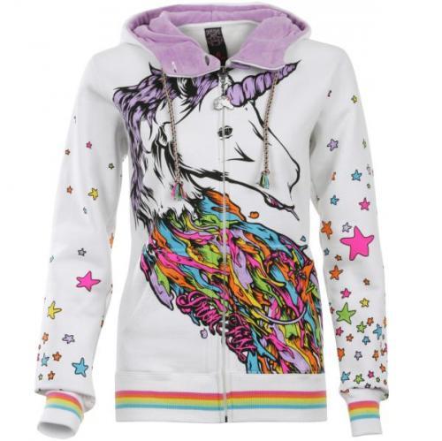 Iron Fist Womens Unicorn Hood - White - Now £11.99 @ Zavvi