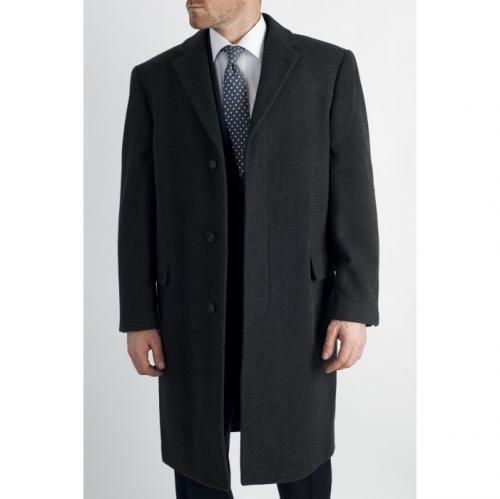 Mens Savoy Taylors Guild Overcoat - £59 Online @ Moss Bros
