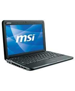 """MSI Wind U130 10"""" Netbook (Black) (Refurb) - £147.98 Delivered @ eBay Argos Outlet"""