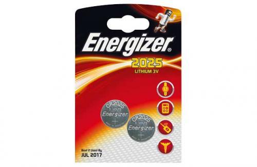 Energizer CR2025 Batteries - 2 Pack - £0.89 @ Argos