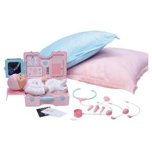 My First Baby Annabell & Medical Kit Exclusive - was £29.97 now £8.99 @ Tesco Direct