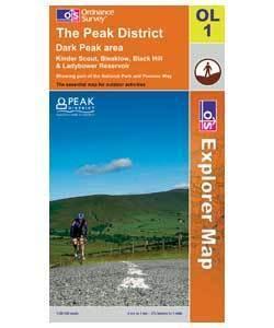 OS Explorer Map - Peak District Area OL1 - £3.99 @ eBay Argos Outlet