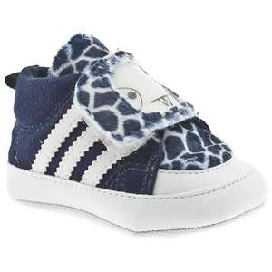 Adidas Nizza Hi Baby Navy/White Fabric Trainers - £9.94 Delivered @ eBay Schuh Outlet
