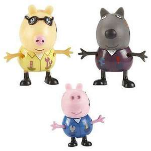 Peppa Pig mechanic George (Three pack) was £16.99 now only £2.99 delivered (using code) @ HoF