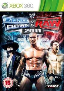 WWE Smackdown vs Raw 2011 (Xbox 360) - £13.98 Delivered @ Amazon UK (+ Nectar Points)